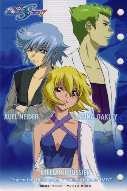 Youichi Fukano, Sunrise (Studio), Mobile Suit Gundam SEED Destiny, Sting Oakley, Auel Neider
