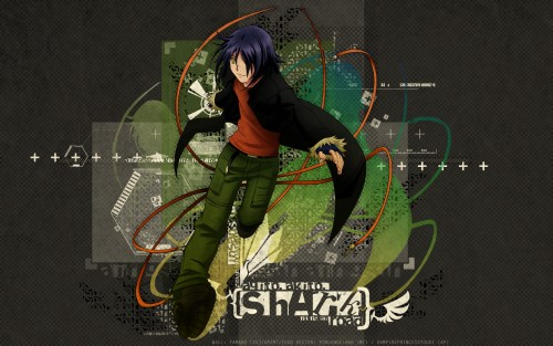 Oh! Great, Air Gear, Akito Wanijima, Vector Art Wallpaper
