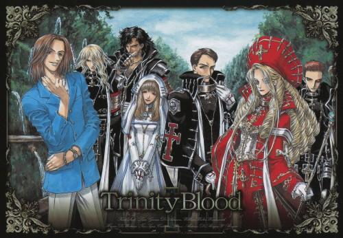 Shibamoto Thores, Gonzo, Trinity Blood, Kate Scott, William Walter Wordsworth