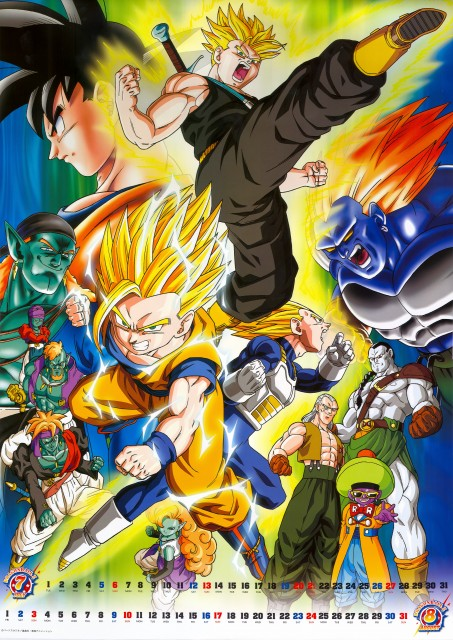 Akira Toriyama, Toei Animation, Dragon Ball, Son Goku, Super Saiyan Trunks