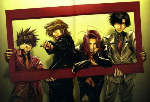 Kazuya Minekura, Studio Pierrot, Saiyuki, Salty Dog VI, Cho Hakkai