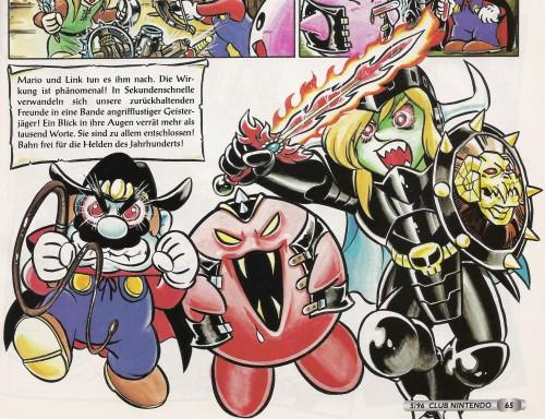 Nintendo, Super Mario, The Legend of Zelda, Kirby, Mario (Character)