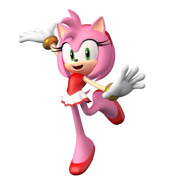 Sega, Sonic the Hedgehog, Amy Rose, Official Digital Art
