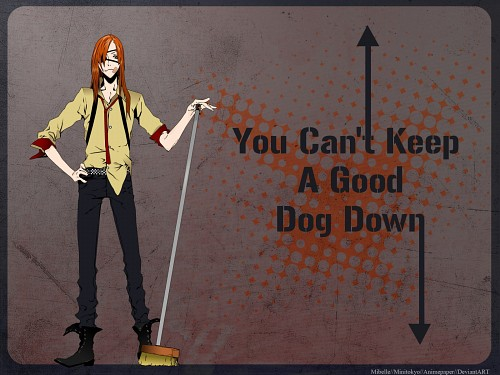 Miwa Shirow, David Production, Dogs: Bullets and Carnage, Badou Nails, Vector Art Wallpaper