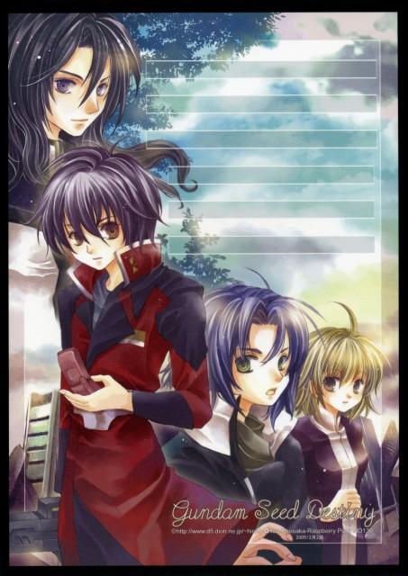 You Kousaka, Mobile Suit Gundam SEED Destiny, Cagalli Yula Athha, Athrun Zala, Shinn Asuka