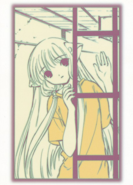 CLAMP, Chobits, Chii, Postcard