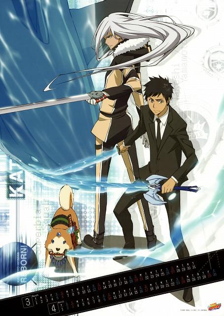 Akira Amano, Katekyo Hitman Reborn!, Takeshi Yamamoto, Superbi Squalo, Jirou (Katekyo Hitman Reborn!)