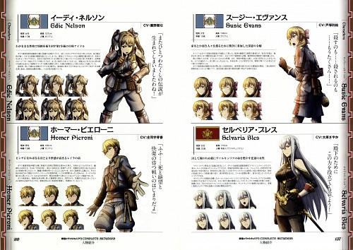 Sega, Valkyria Chronicles 3, Valkyria Chronicles, Homer Peron, Selvaria Bles