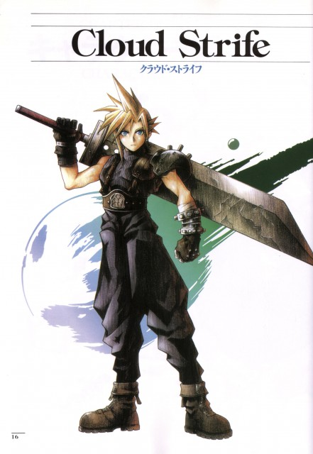 Square Enix, Final Fantasy VII, Cloud Strife