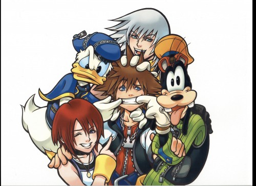 Square Enix, Kingdom Hearts, Sora, Kairi, Donald Duck