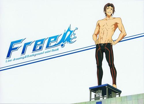 Kyoto Animation, Free!, Rin Matsuoka, DVD Cover