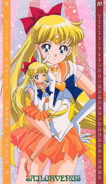 Toei Animation, Bishoujo Senshi Sailor Moon, Sailor Venus, Calendar