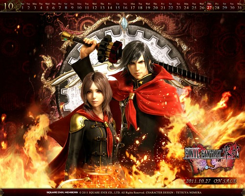 Square Enix, Final Fantasy Type-0, Rem Tokimiya, Machina Kunagiri