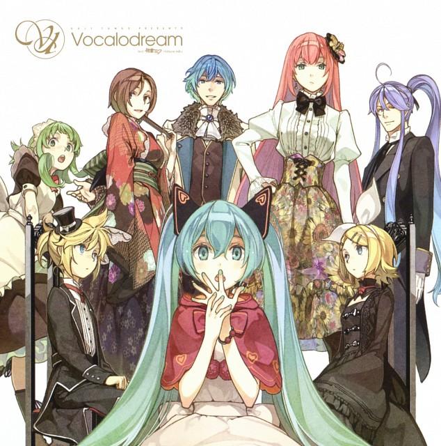 Hidari, Vocaloid, Miku Hatsune, Kaito, Kamui Gakupo