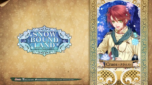 Aya Murasaki, Idea Factory, Snow Bound Land, Craes, Official Wallpaper