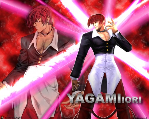 SNK, King of Fighters, Iori Yagami Wallpaper