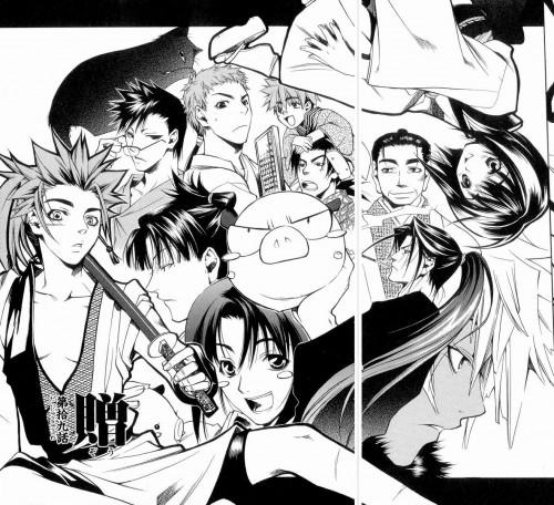 Nanae Chrono, Peacemaker Kurogane, Suzu Kitamura, Heisuke Toudou (Peacemaker Kurogane), Susumu Yamazaki
