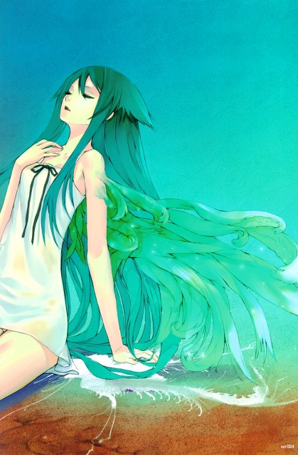 redjuice, Nitro+, EXT: redjuicegraphics works magazine 2009 summer, Saya no Uta, Saya (Saya no Uta)