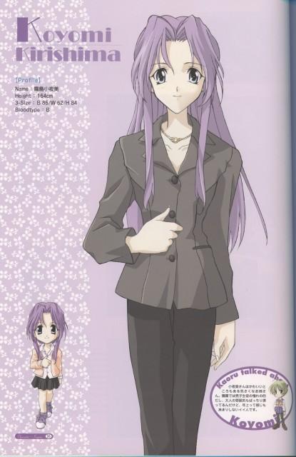 Mutsumi Sasaki, Memories Off, Koyomi Kirishima, Character Sheet