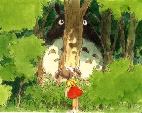 Hayao Miyazaki, Studio Ghibli, My Neighbor Totoro, The Art of My Neighbor Totoro, Totoro