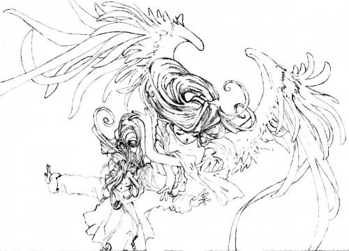 Kousuke Fujishima, Ah! Megami-sama, Holy Bell, Belldandy, Member Art