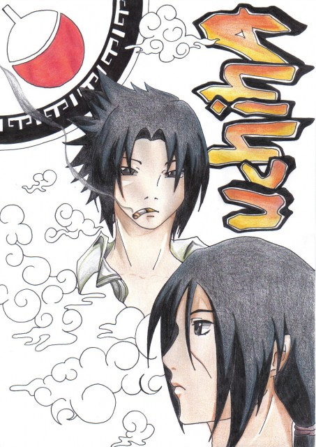 Naruto, Itachi Uchiha, Sasuke Uchiha, Member Art