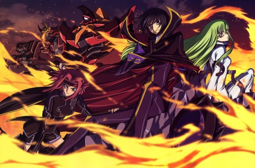 Takahiro Kimura, Seiichi Nakatani, Sunrise (Studio), Lelouch of the Rebellion, Code Geass Illustrations Relation