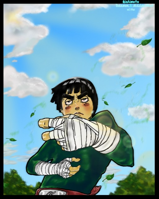 Studio Pierrot, Naruto, Rock Lee, Colorizations