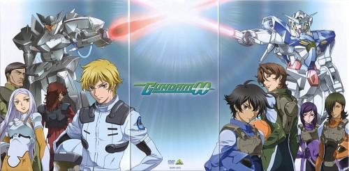 Sunrise (Studio), Mobile Suit Gundam 00, Tieria Erde, Soma Peries, Lockon Stratos
