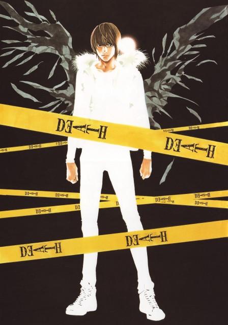 Takeshi Obata, Death Note, Blanc et Noir, Light Yagami