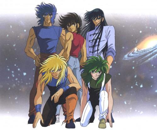 Masami Kurumada, Toei Animation, Saint Seiya, Dragon Shiryu, Cygnus Hyoga