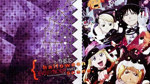 Hiromu Arakawa, BONES, Fullmetal Alchemist, Alphonse Elric, Riza Hawkeye Wallpaper