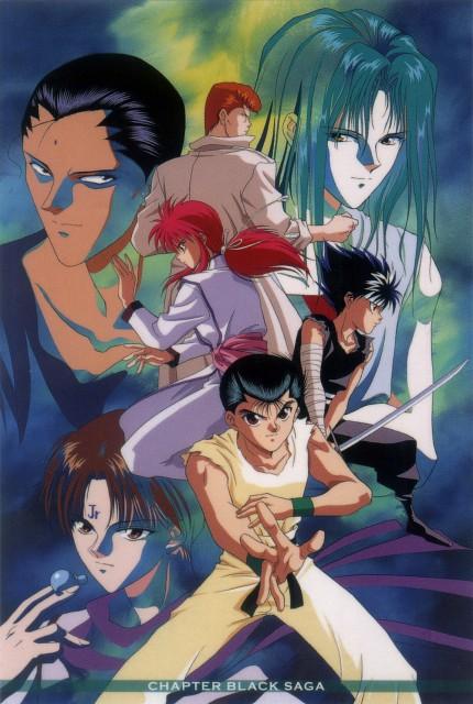 Studio Pierrot, Yuu Yuu Hakusho, Hiei, Yusuke Urameshi, Shinobu Sensui