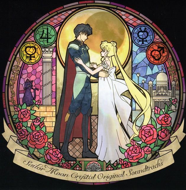 Toei Animation, Bishoujo Senshi Sailor Moon, Luna, Princess Serenity, Prince Endymion