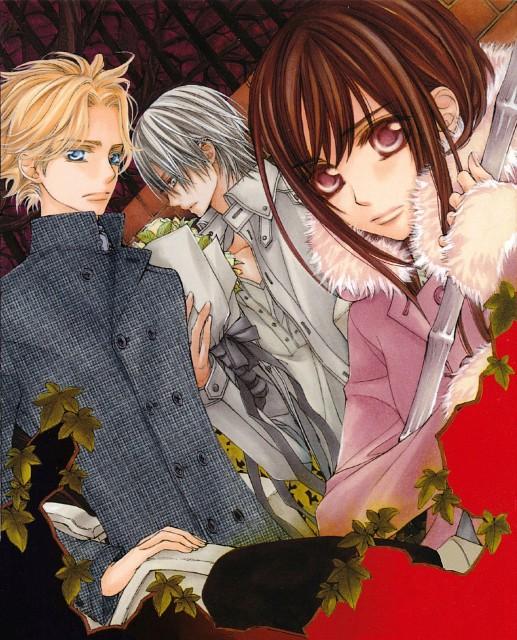 Matsuri Hino, Vampire Knight, Yuuki Cross, Hanabusa Aidou, Zero Kiryuu