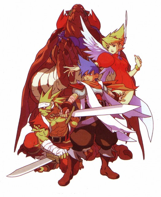 Capcom, Breath of Fire, Rei (Breath of Fire), Ryu (Breath of Fire), Nina (Breath of Fire)