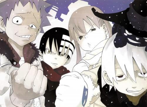 Atsushi Okubo, Soul Eater, Soul Art, Black Star, Blair
