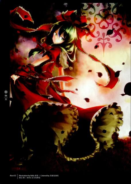 Rella, Lowlight Kirilenko, World Through Fantasy, Touhou, Hina Kagiyama