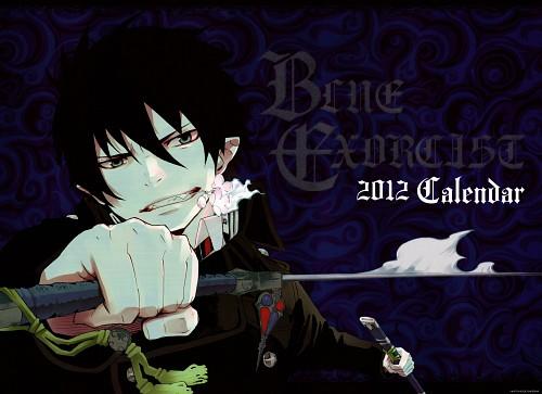 Kazue Katou, A-1 Pictures, Ao no Exorcist, Blue Exorcist 2012 Calendar, Rin Okumura