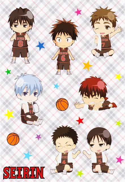 Tadatoshi Fujimaki, Production I.G, Kuroko no Basket, Tetsuya Kuroko, Teppei Kiyoshi