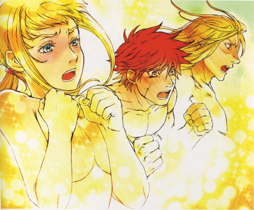 Eiji Kaneda, Sousei no Aquarion, Aquarion Illustrations: Eiji Kaneda Art Works, Apollo, Sirius de Alisia