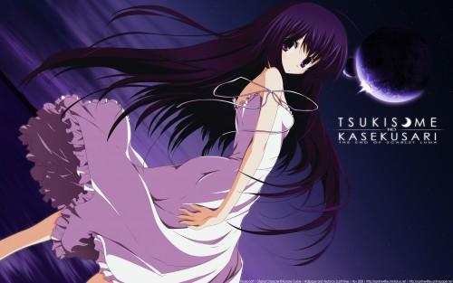 Tsukinon, Hiyoko Soft, Tsukisome no Kasa Wallpaper