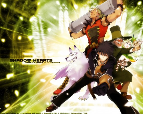 Sacnoth, Shadow Hearts, Yuri Hyuga, Cornelia (Shadow Hearts), Gepetto Wallpaper