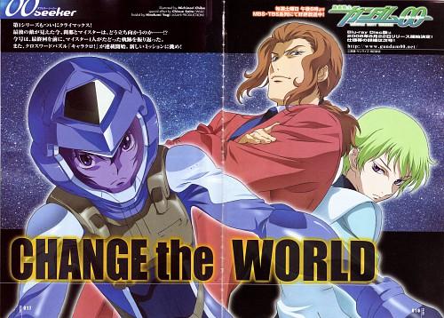 Sunrise (Studio), Mobile Suit Gundam 00, Setsuna F. Seiei, Alejandro Corner, Ribbons Almark