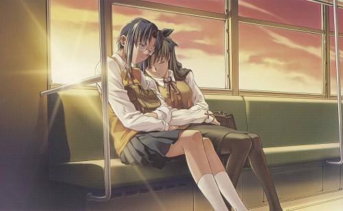 Shingetsutan Tsukihime, Fate/stay night, Ciel (Shingetsutan Tsukihime), Rin Tohsaka, Doujinshi