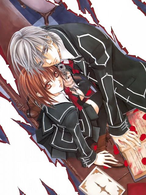 Matsuri Hino, Vampire Knight, Hino Matsuri Illustrations Vampire Knight, Zero Kiryuu, Yuuki Cross