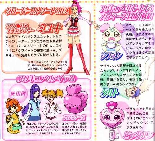 Toei Animation, Fresh Precure!, Tarte (Fresh Precure), Inori Yamabuki, Miki Aono