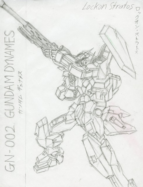 Sunrise (Studio), Mobile Suit Gundam 00, Lockon Stratos, Member Art