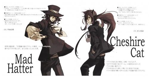 Tohru Tagura, Are You Alice, Mad Hatter (Are You Alice), Cheshire Cat (Are You Alice)