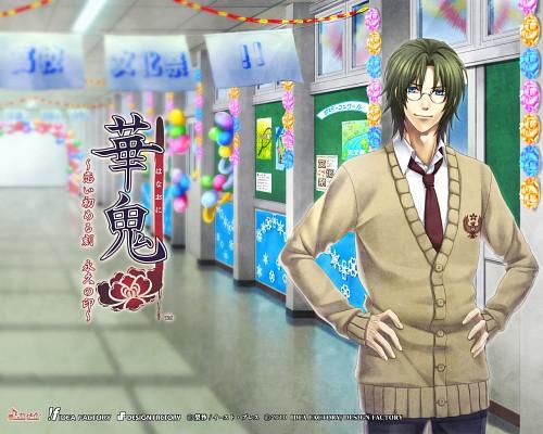 Yone Kazuki, Idea Factory, Hanaoni, Mitsuaki Shizuma, Official Wallpaper